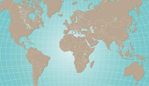 verdens hav kart Korrekturvisning av: Verdenshav og verdensdeler (Artikkel) verdens hav kart